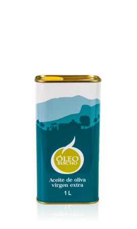 1l Extra Virgin Olive Oil Tin Can